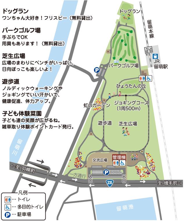 船場公園MAP